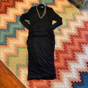 NWT Jennifer Lopez Dress XXL Black Long Sleeve